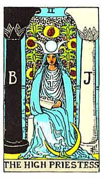 塔罗牌解析:2女祭司