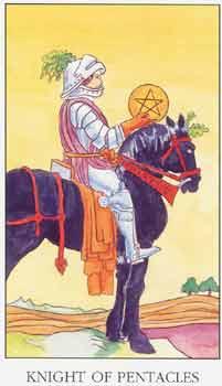 塔罗牌解析:星币骑士
