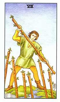 塔罗牌权杖牌组的故事