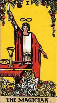 塔罗牌解析:1魔术师