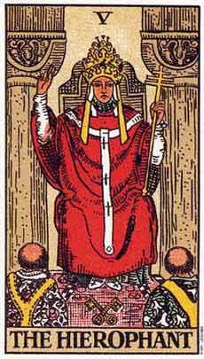 塔罗牌解析:5教皇
