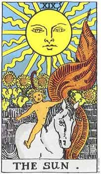塔罗牌解析:19太阳