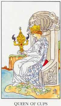 塔罗牌解析:圣杯(皇后)