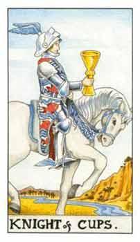 塔罗牌解析:圣杯(骑士)