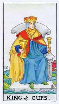 塔罗牌解析:圣杯(国王)