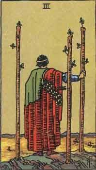 塔罗牌解析:权杖3