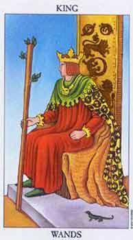 塔罗牌解析:权杖(国王)